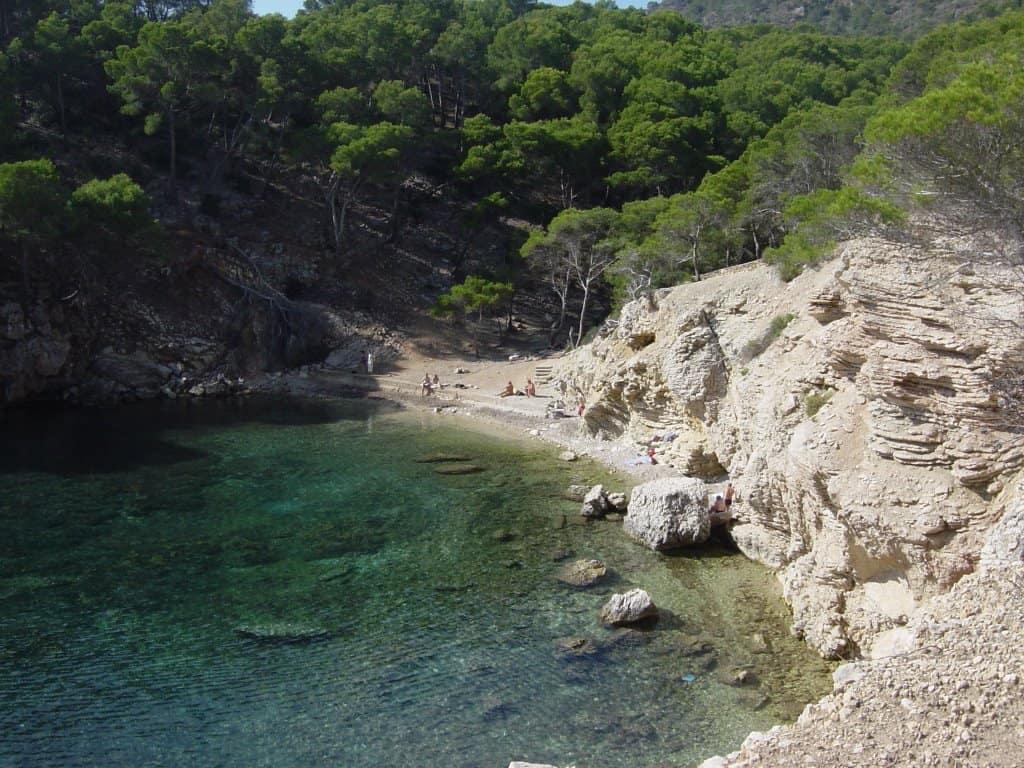 Es Caló des Monjo Mallorca