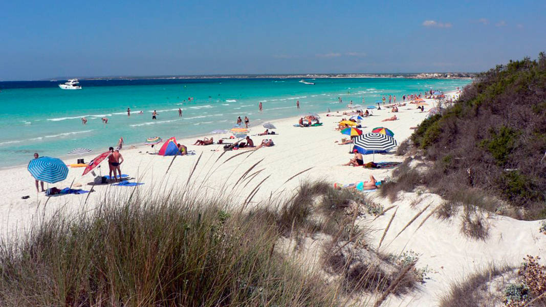 Es Trenc, Nudist Beach in Ses Salines Campos