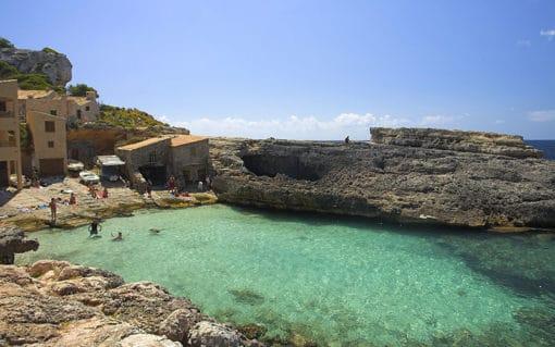Excursion Beach Cala s´Almunia Mallorca | Bestransfers Mallorca