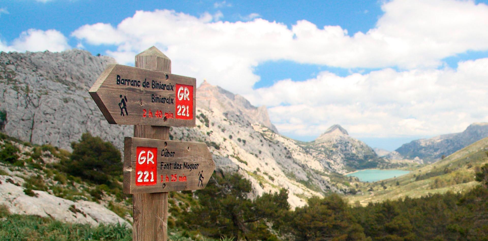 Trekking in Mallorca: GR 221